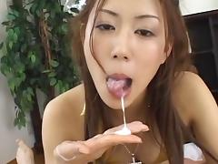 Masturbation video with Japanese model Rimu Himeno