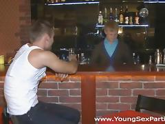 Bar, 18 19 Teens, 69, Bar, Blowjob, Champagne