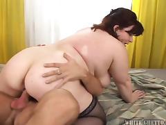 underneath her big fat ass @ big fat cream pie #07