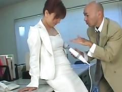 Boss, Boss, Couple, Japanese, Pantyhose, Secretary