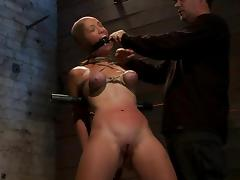 Gagging, BDSM, Big Tits, Bondage, Boobs, Bound