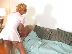 Shake the transsexual nurse gets banged in the ass
