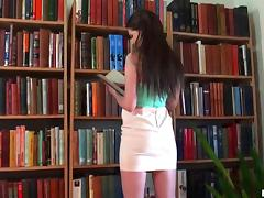 Yummy Liona Masturbates After Reading A Book In A Solo Model Clip