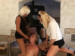 Tied Up, BDSM, Bound, Femdom, Hardcore, Strapon