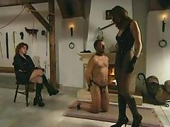 Faceslapping by 2 Mistresses