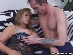 Busty Kelley Paige Gets Slammed