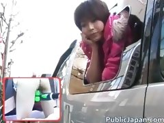 Horny Nana Natsume Fucked In A Van part6
