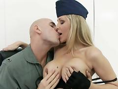 Police, Cop, German, Mature, MILF, Office