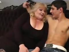 Mom and Boy, 18 19 Teens, BBW, Chubby, Chunky, Fat