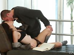 Love story in erotic way with luscious Emily Grey