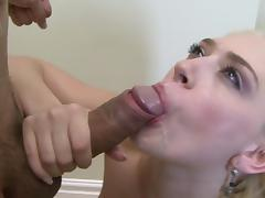 Babes are sucking truly big hard dicks