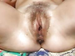 Mom and Girl, Brunette, Cunt, Fingering, Hairy, Masturbation
