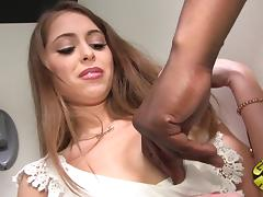 Scrumptious Riley Reid Has Interracial Sex In A Reality Clip
