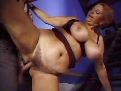 Big Titted Granny Mathilda Fucked By Dork
