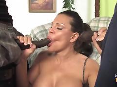 Mom, Big Tits, Black, Blowjob, Boobs, Ebony