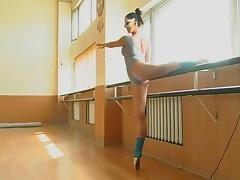 Anna Muhina - Gymnastic Video part 1