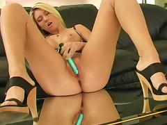 Charming Alison Angel Masturbates With A Dildo In A Solo Model Clip