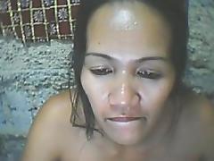 FILIPINA MAMMA RACHEL PACIBLE 40 FROM CEBU SHOWS HER MILK SACKS