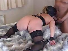 Bound, BDSM, Bound, Stockings, Tied Up, Hogtied