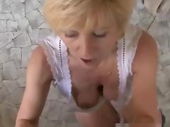 Sometimes, Money Talks #7 (Hot Blonde Granny GILF)