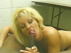 All, Blonde, Blowjob, Couple, Facial, Interracial