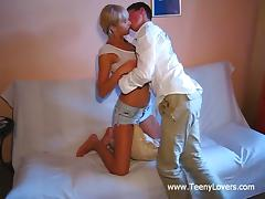 Appetizing Brenda Gets Fucked Hard By Henry In An Amateur Video