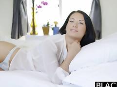 BLACKED Beautiful Kelly Diamond Tries Interracial anal sex