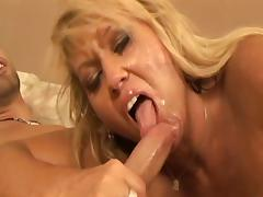Blonde Mom Fucks Daughter's Boyfriend porn video