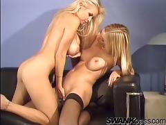 Sweet Angel Cassidy And Her Hot GF Have Lesbian Sex