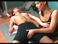 Lesbian Play and Massage