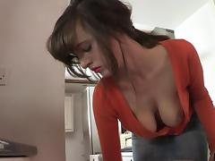 Housewife, Brunette, Housewife, Jeans, Pornstar
