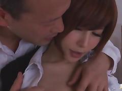 Big cock drills Yuria Satomi sweet pussy