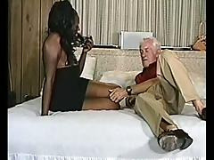 Mouthwatering Ebony Gets Fucked Hard By An Amateur Mature Man