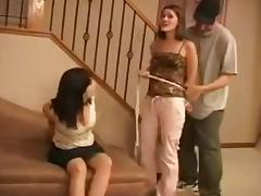 Two tied up and gagged girls porn video