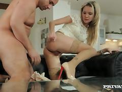 Delightful Angel Piaff Gets Her Asshole Fucked Hard