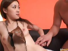 Misaki Asian doll is sexy