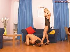 Russian-Mistress Video: Anna