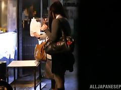 Young japanese babe Misaki Higashino gets fucked hard