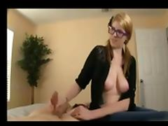Nice Girl Helping NOT Her Brother To Cum BVR