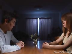 Terrific gangbang scene with pretty Japanese girl Akiho Yoshizawa