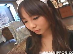 Rina Matsuoka Pretty Maid  Gets An Anal Penetration