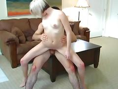 Jonny T fucks with blonde Madison Mason