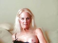 Grandma, Anal, Assfucking, Blonde, Cum, Cumshot