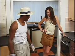 Big Omar's British Adventures - Bitch Inspection scene 2