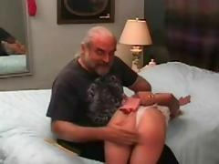 Male dom, spanking