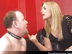 Elektra Skye - Foot Worship Humiliation