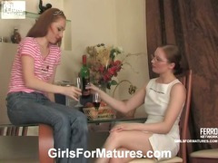 Rita and Nolly lesbian mature