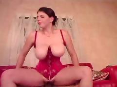 Shemale Fucks a Big Tit Girl