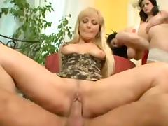 Wicked German MILFs getting fucked silly