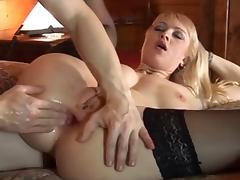 MILF Anal Fisting in Chalet -AFM-